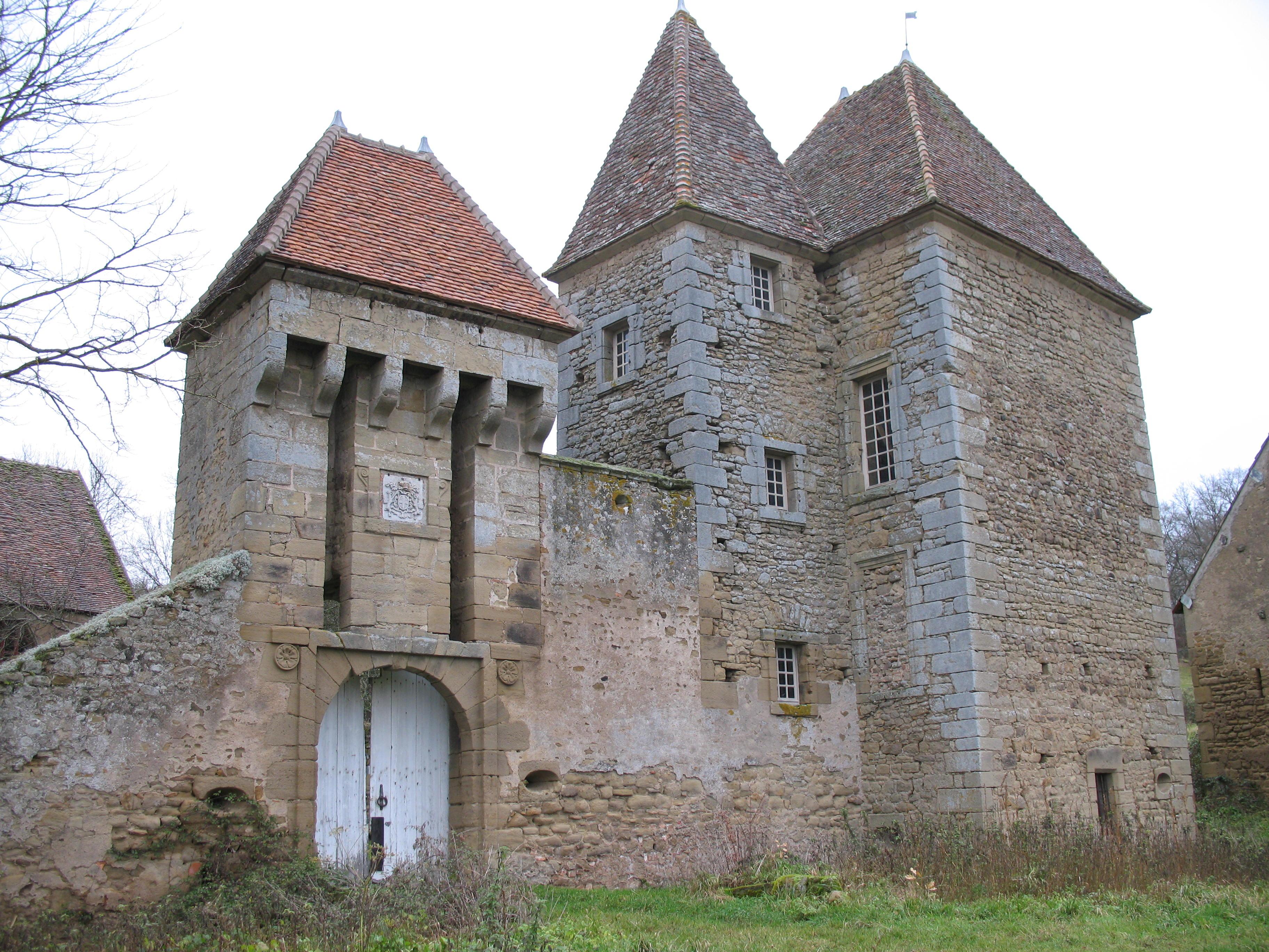 Saint Léger du Bois Wikiwand # Le Chateau Du Bois