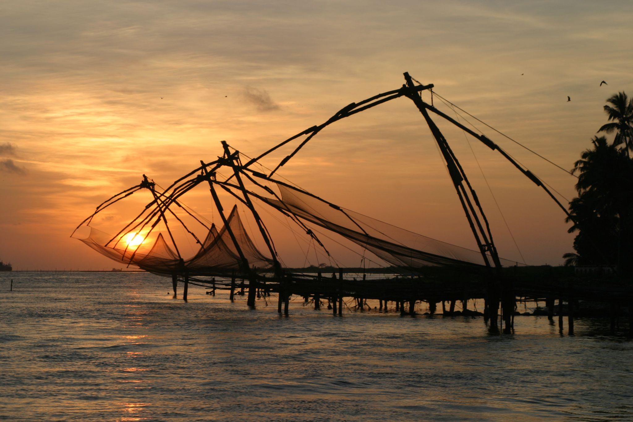 Image result for Chinese Fishing Nets kochi