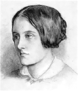 image of Christina Rossetti from wikipedia
