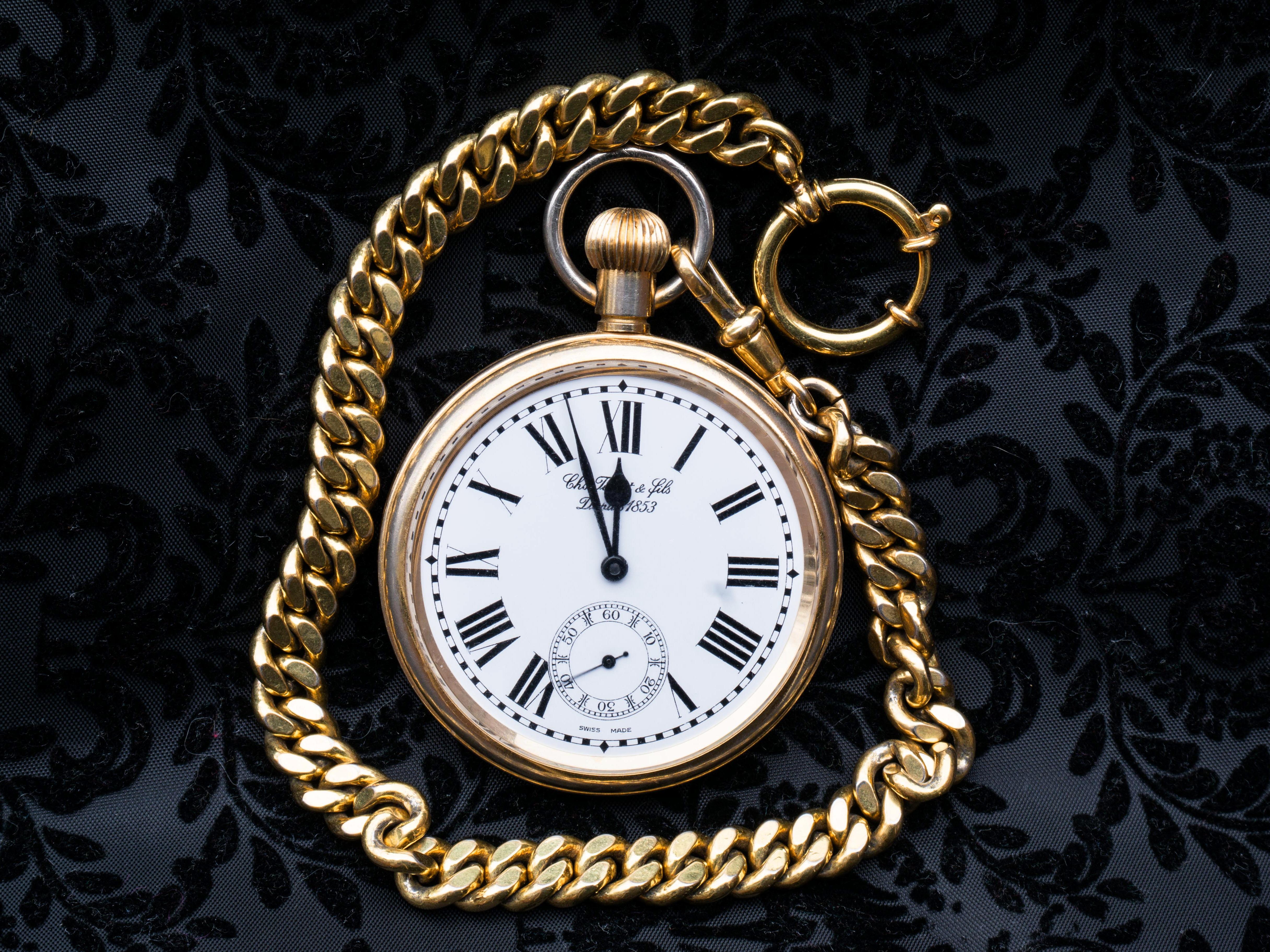 Elgin Gold Watch Fgnb