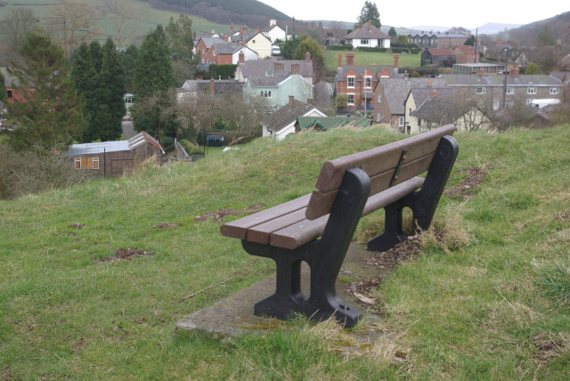 Clun Castle Grounds - geograph.org.uk - 740442