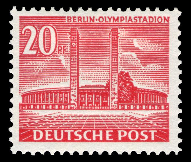 Briefmarken Jahrgang 1953 Der Deutschen Post Berlin Wikipedia