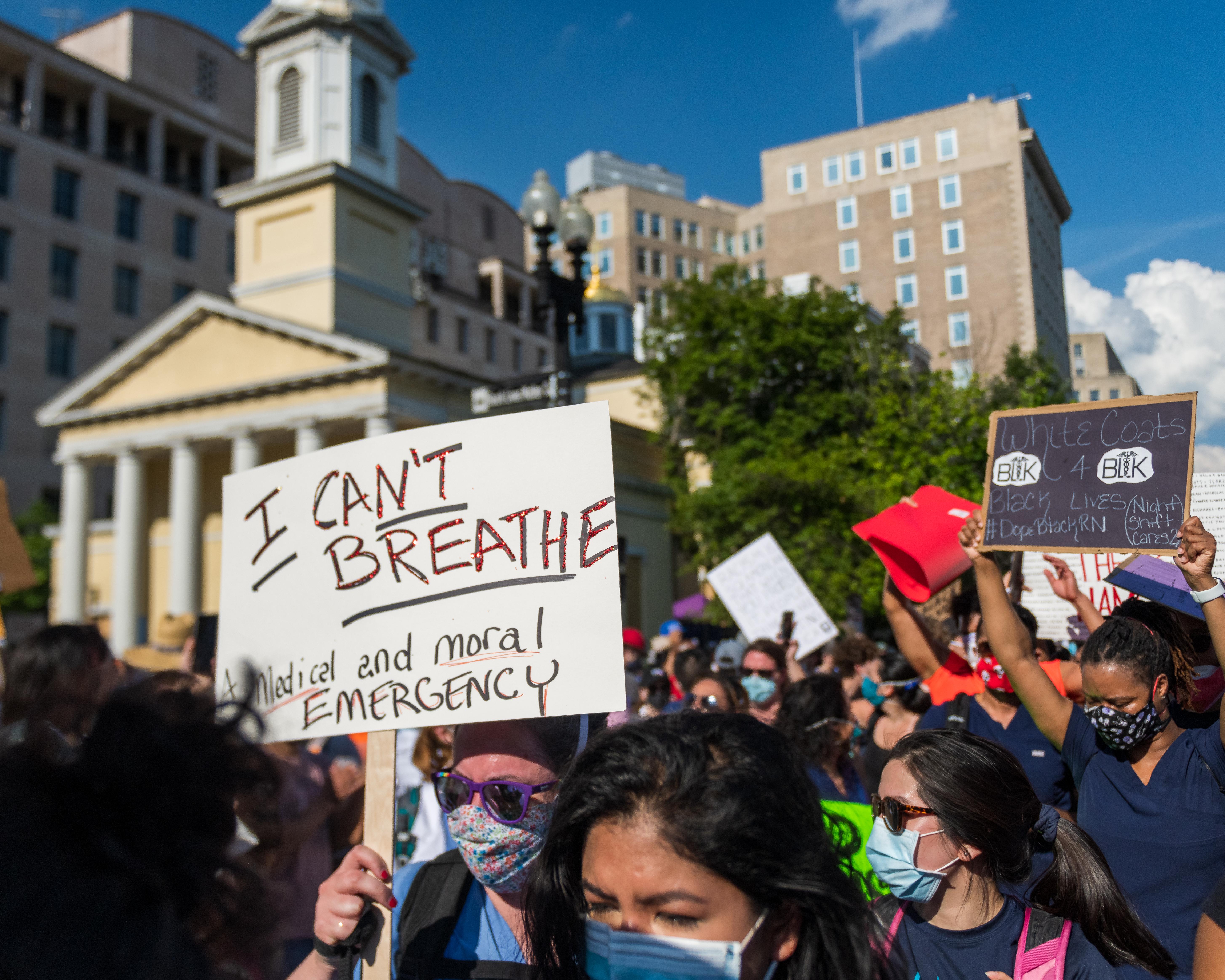 DC Protests June 6; Author Kyle .T