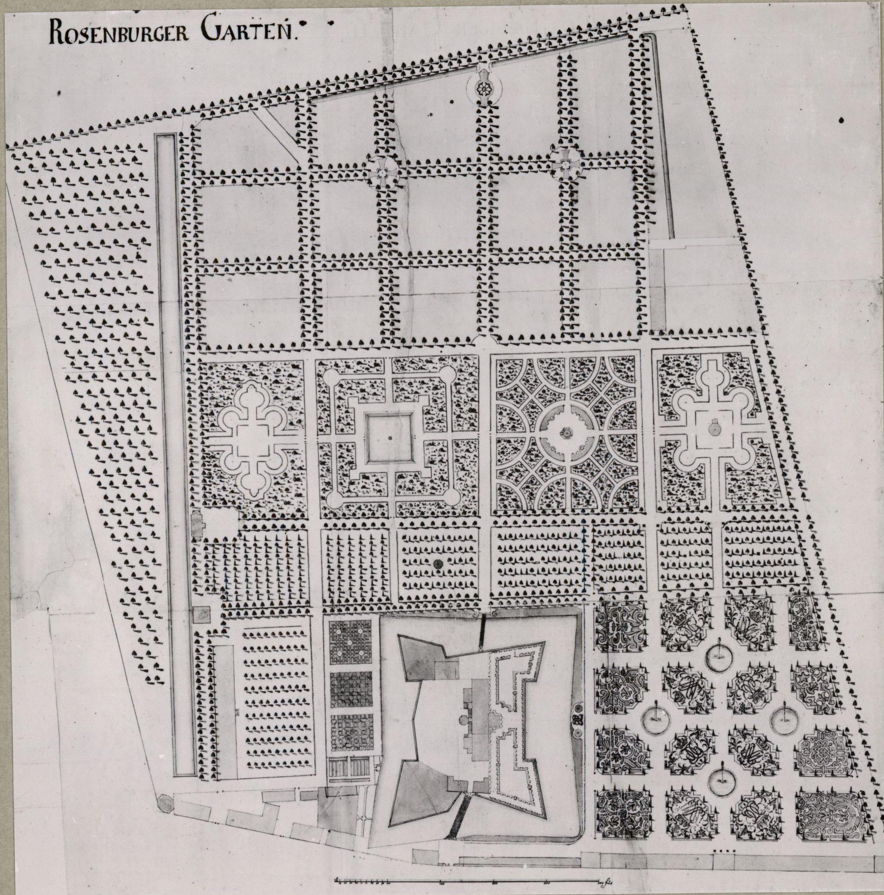 kort over kongens have