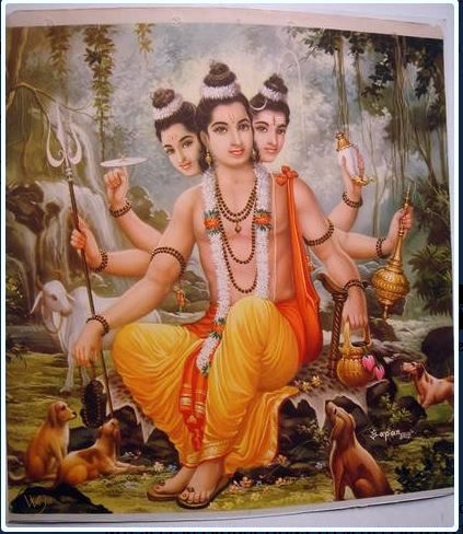 Dattatreya Shiva Vishnu Brahma