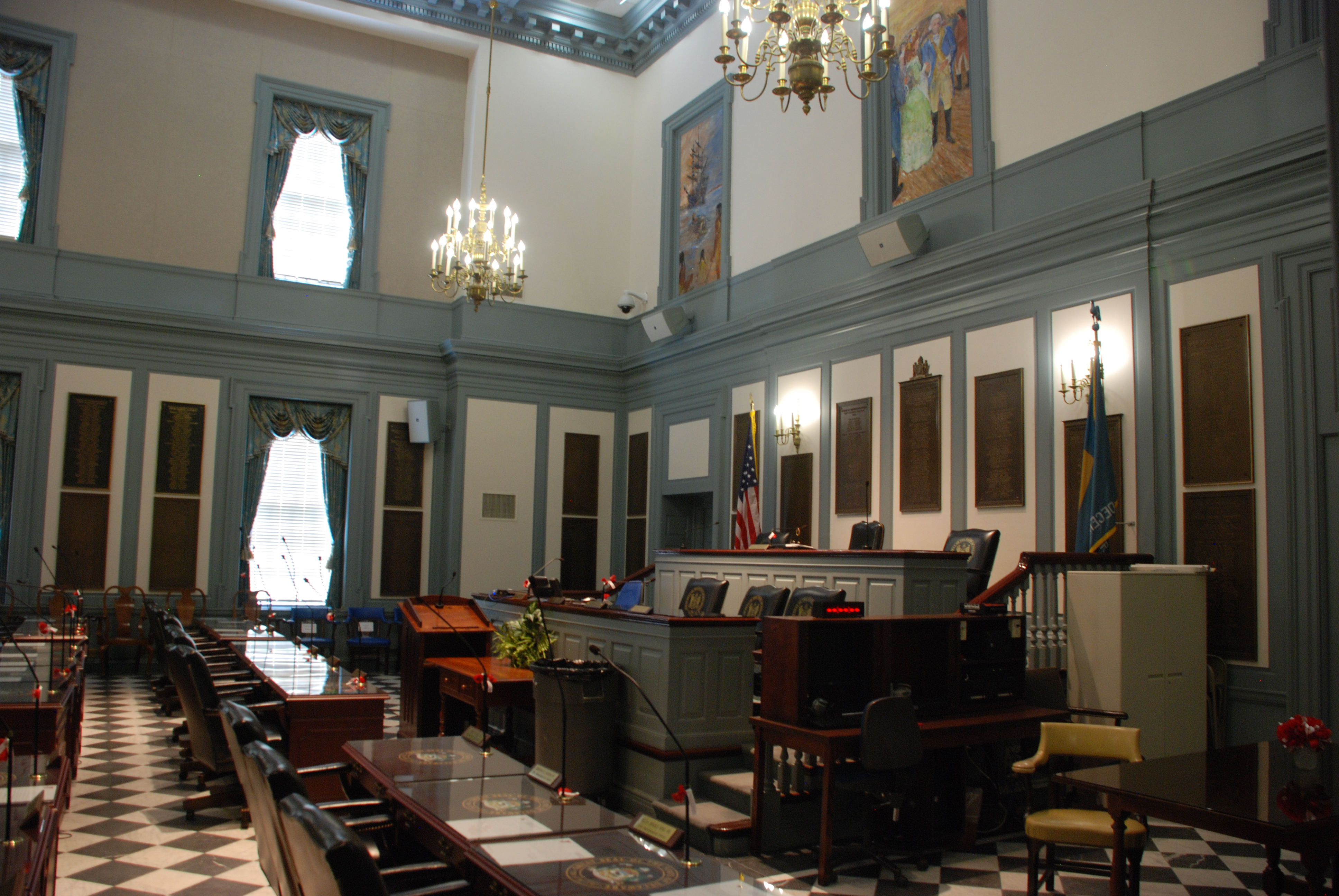 Dover Legislative Hall Tour