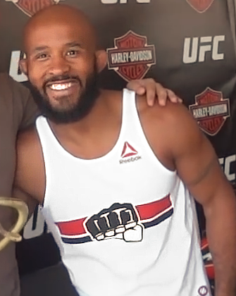 The 52-year old son of father (?) and mother(?) Demetrious Johnson in 2018 photo. Demetrious Johnson earned a  million dollar salary - leaving the net worth at 9 million in 2018