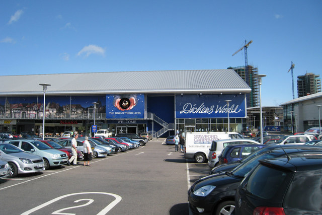 Dickens World, Chatham, Kent - geograph.org.uk - 927514.jpg