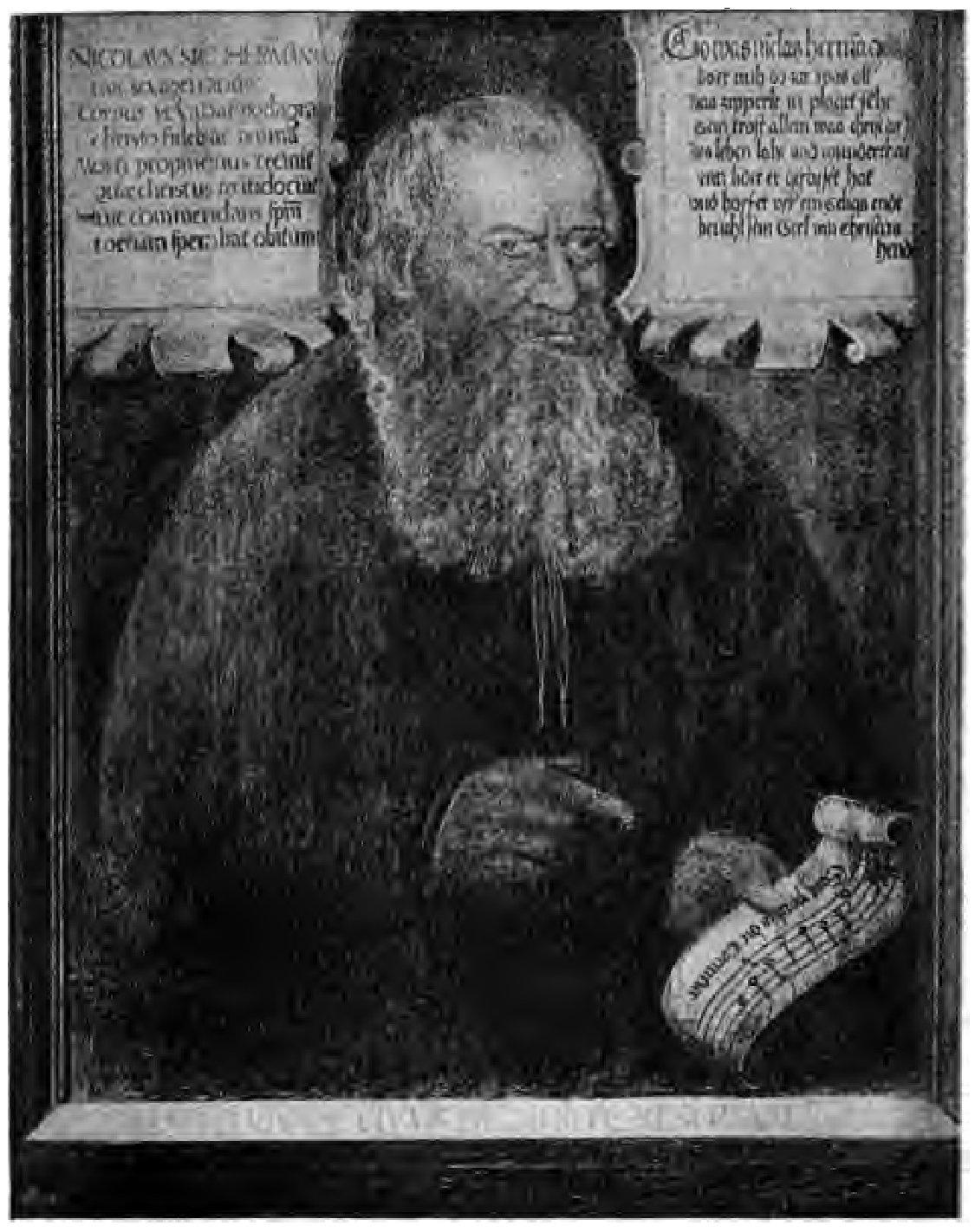 Die sonntags evangelia van Nicolaus Herman