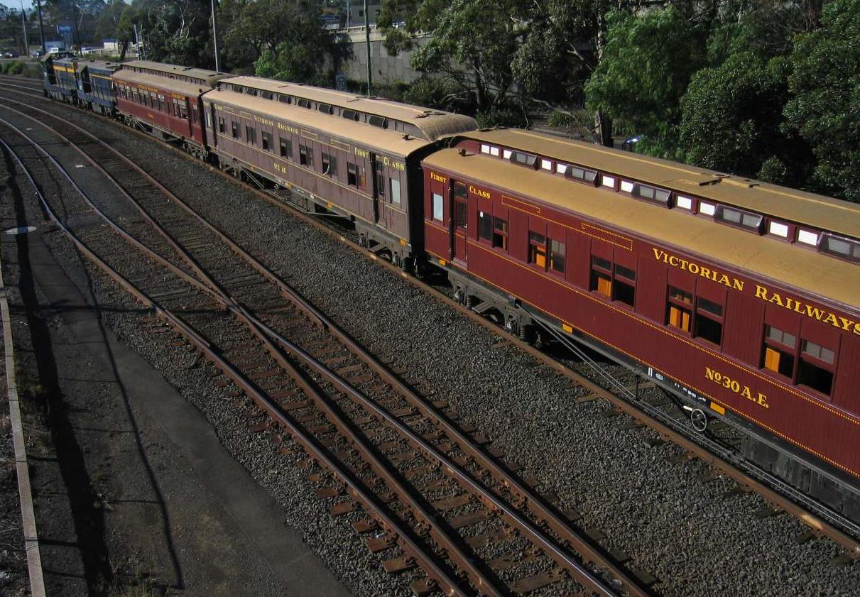 Canadian Glass Roof Train