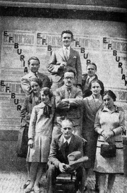 The Voiceband of E. F. Burian at a festival in [[Siena