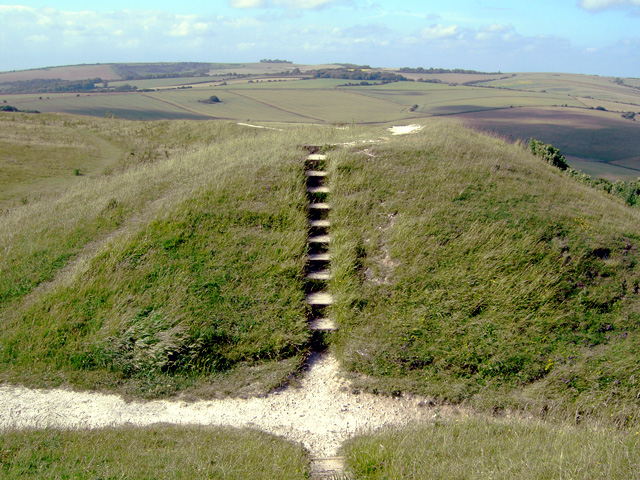Easternmost part of Cissbury Ring - geograph.org.uk - 868795