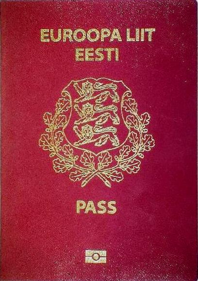 Estonian passport