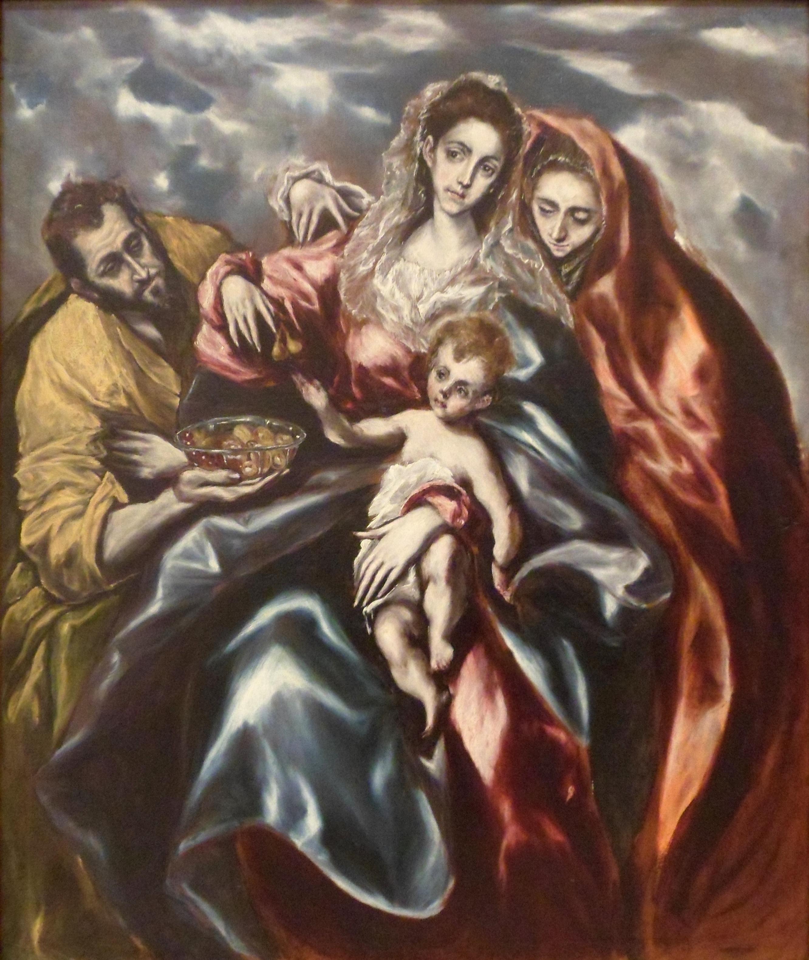 File:El Greco - La Sagrada Familia, c. 1610-11.jpg - Wikimedia Commons