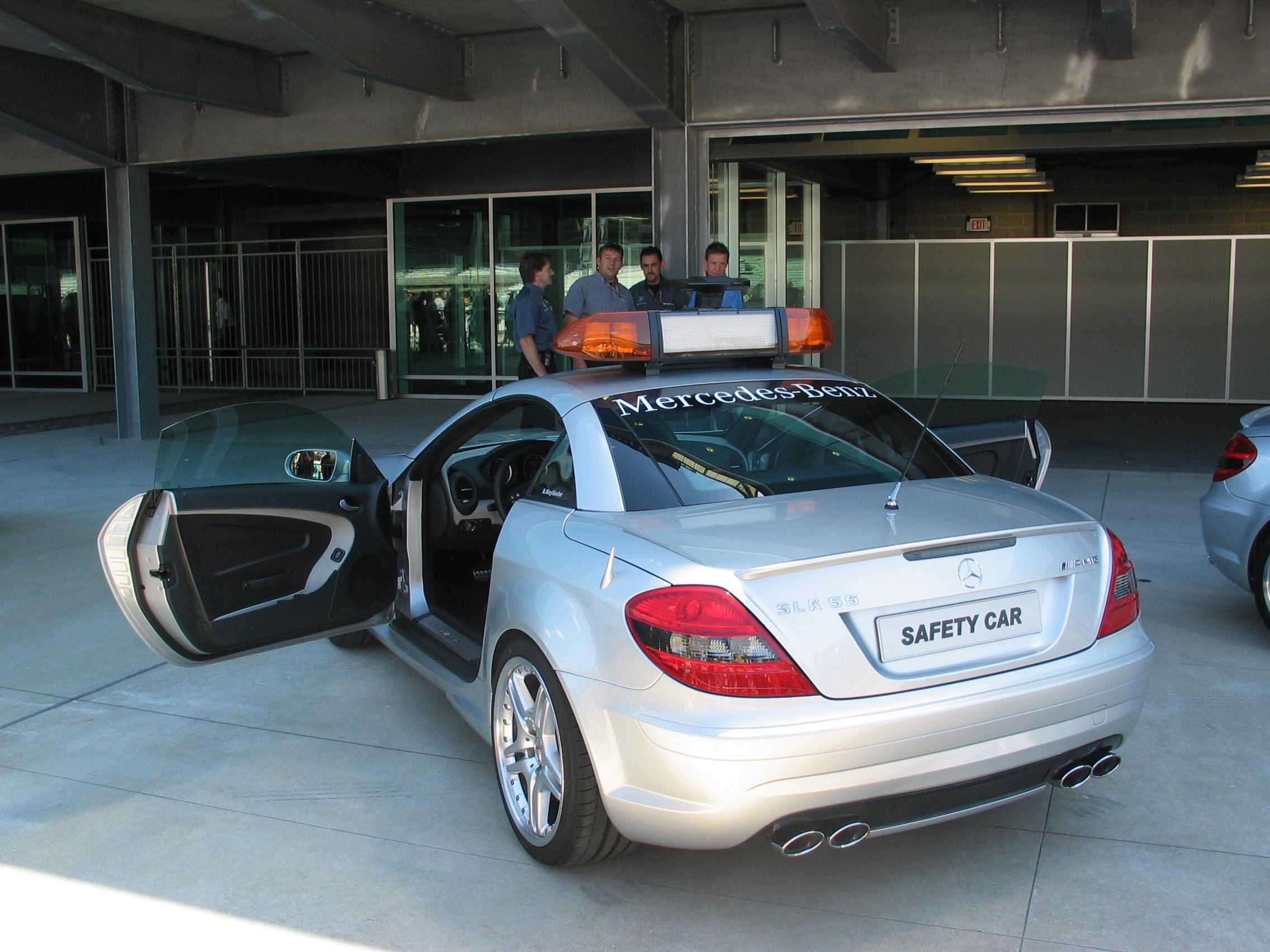 File F1 Safty Car Out Of Garage Jpg