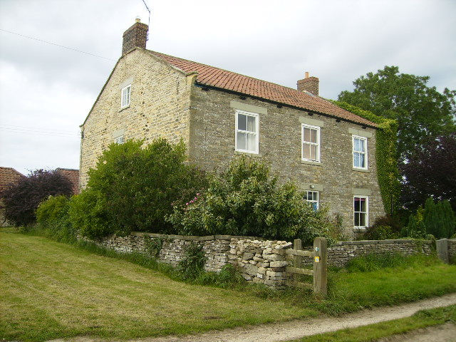Farmhouse at High Blansby - geograph.org.uk - 538099