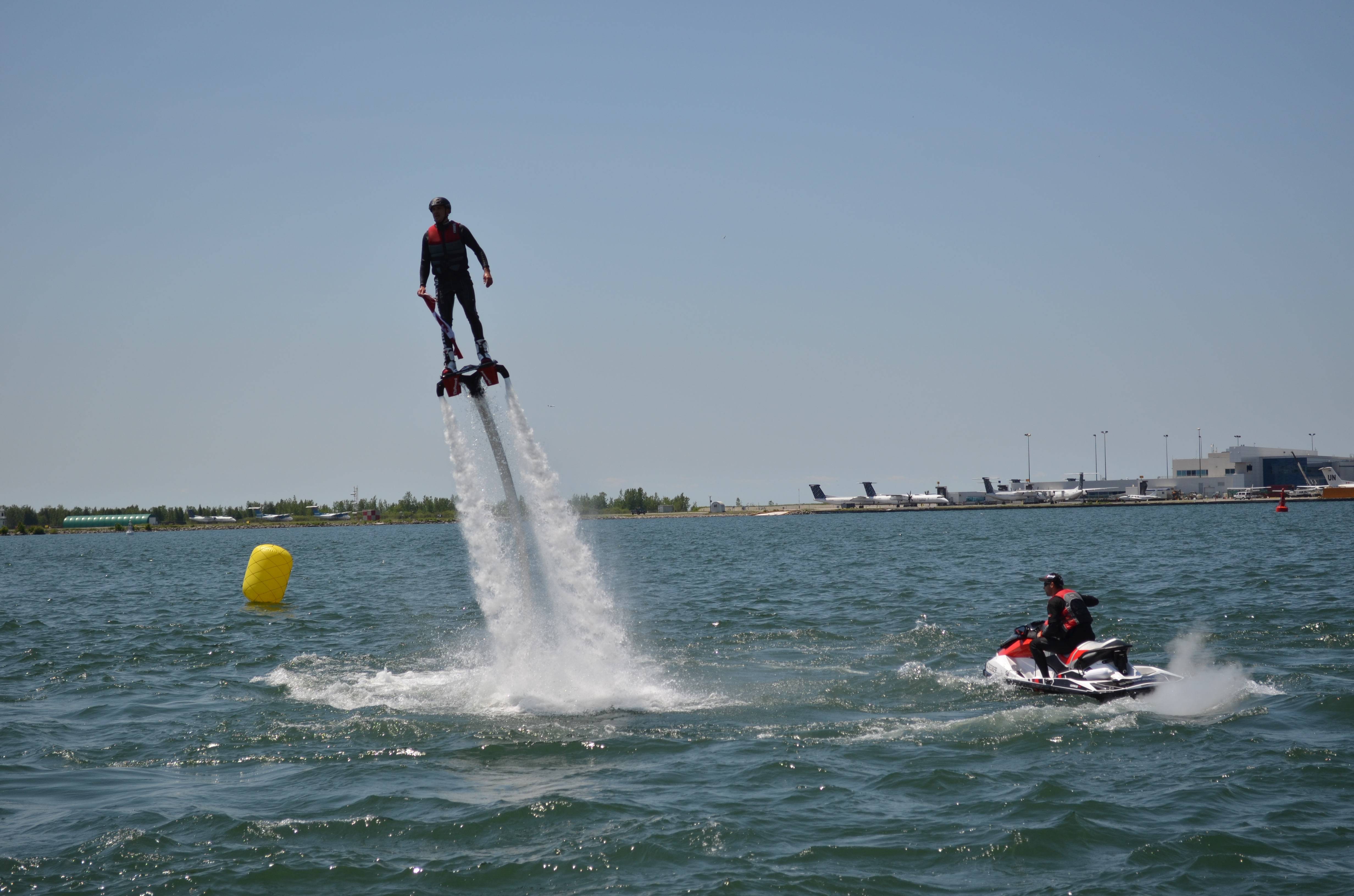 Flyboard en el mar