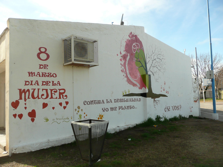 File Fortin Olavarria Mural En La Plaza El Fortincito 8 De
