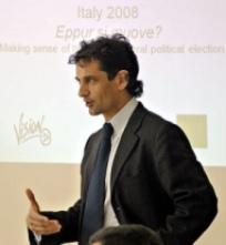 Francesco Grillo Italian economist