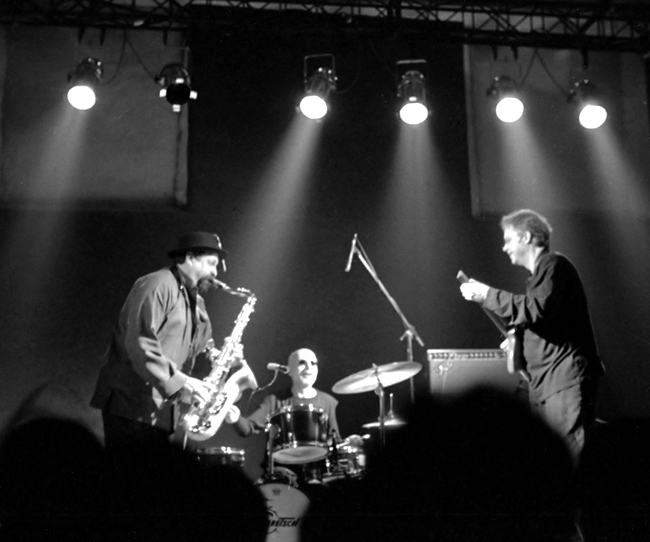 Joe Lovano, Paul Motian, and Bill Frisell in Rome