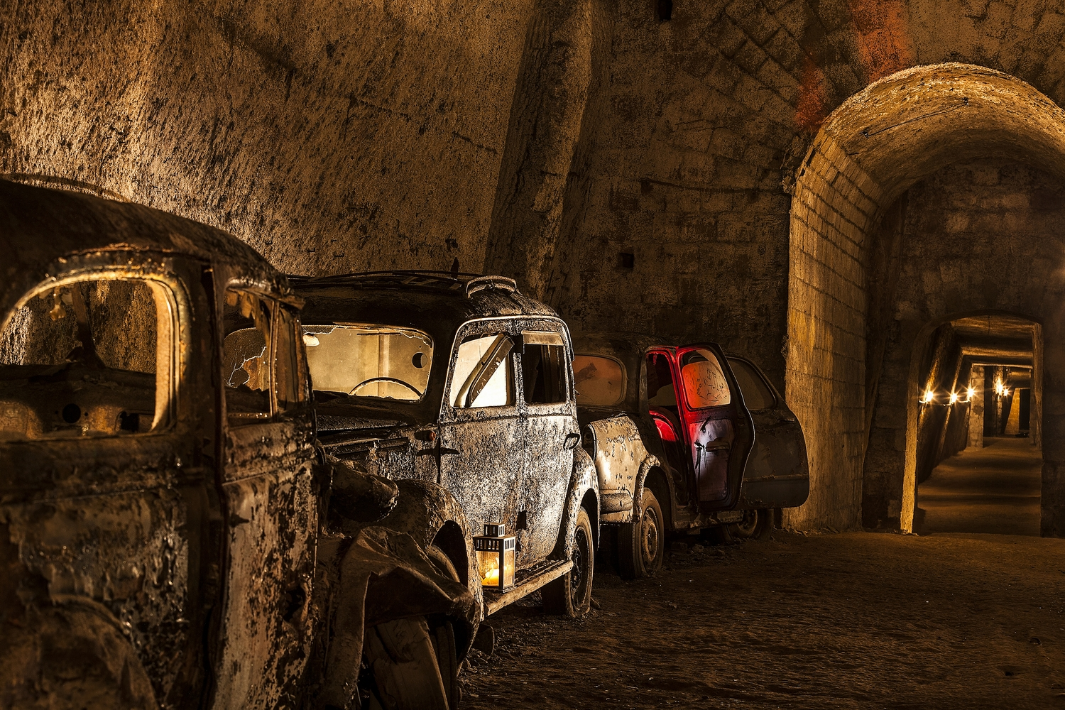 German Cars Stored In Lockers Around Late  S