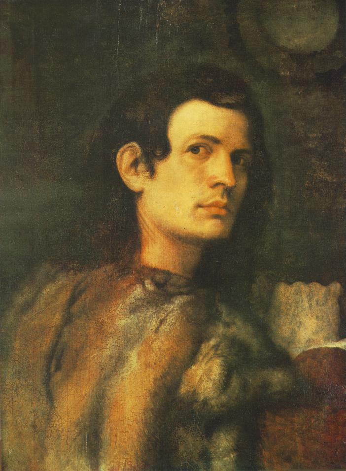 Portrait Ofa Girl 14 Years In Nature Stock Image: File:Giorgione, Portrait Of A Young Man 2.jpg