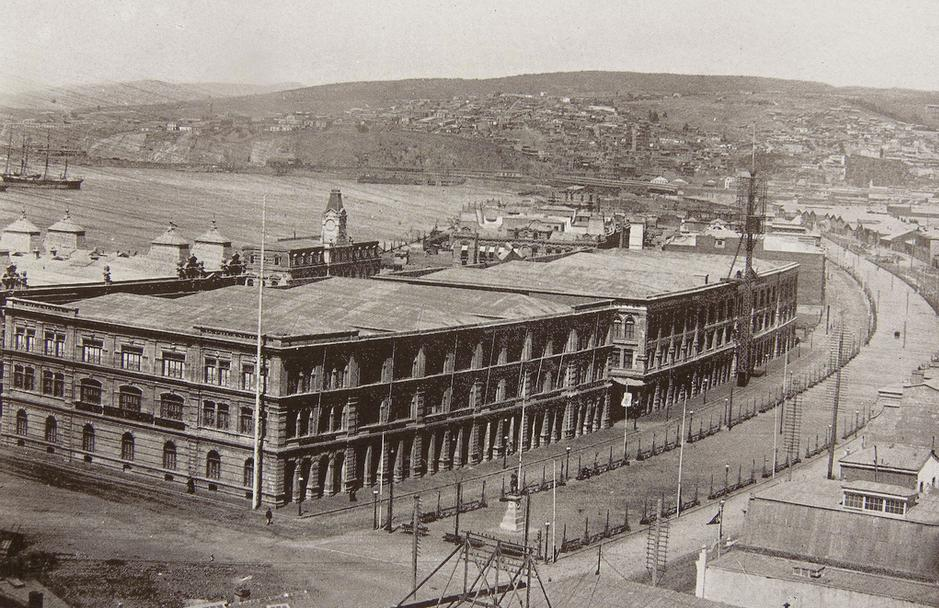 File:Gran Avenida de Valparaíso (Av. Brasil), 1888 - Félix Leblanc ...