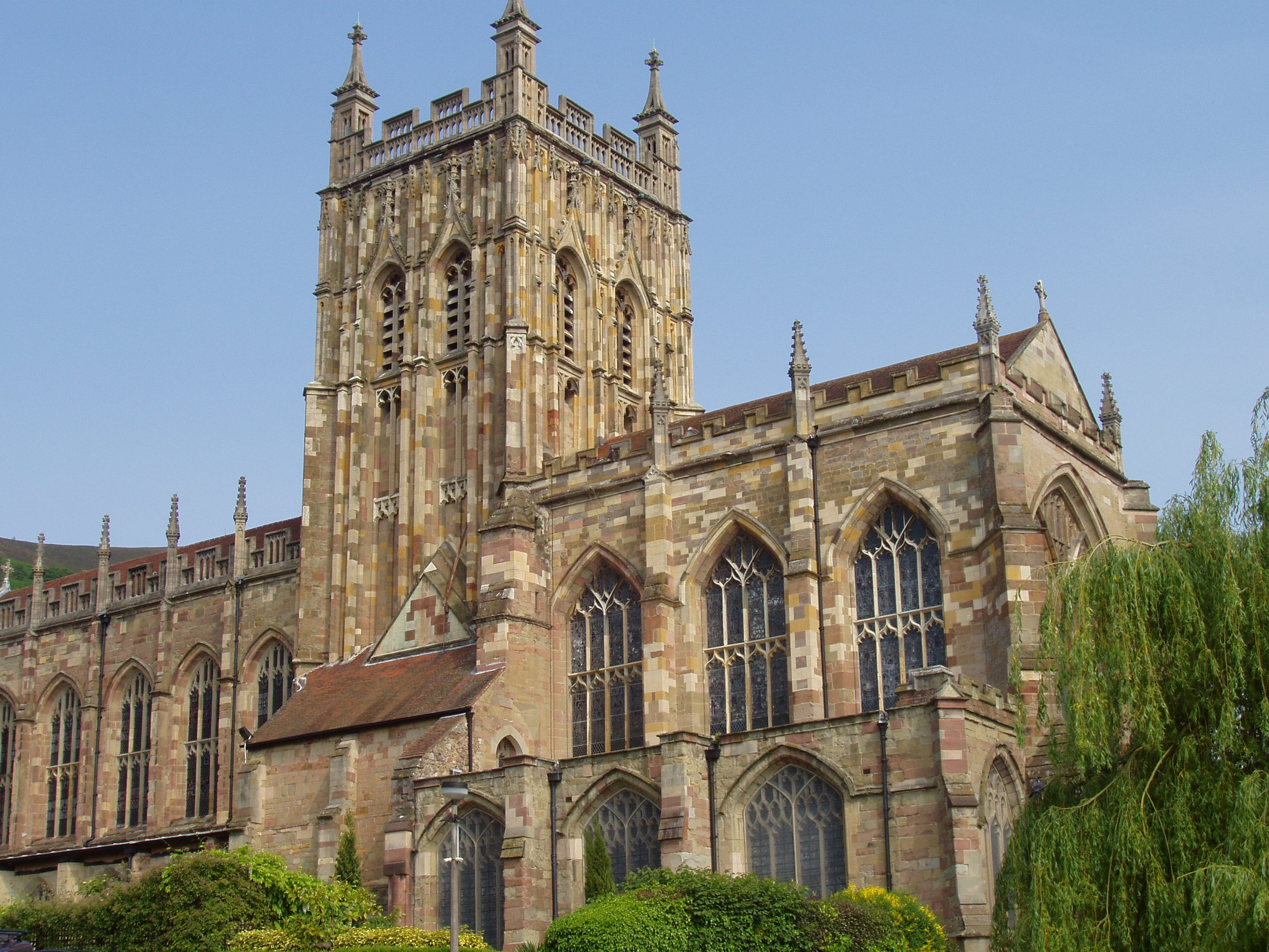 Image result for great malvern priory