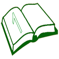 File:Green open book 1.png