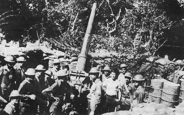 File:Gun Emplacement On Corregidor 3-inch antiaircraft gun M3.jpg