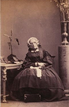 Harriet Martineau, 1861, by Camille Silvy