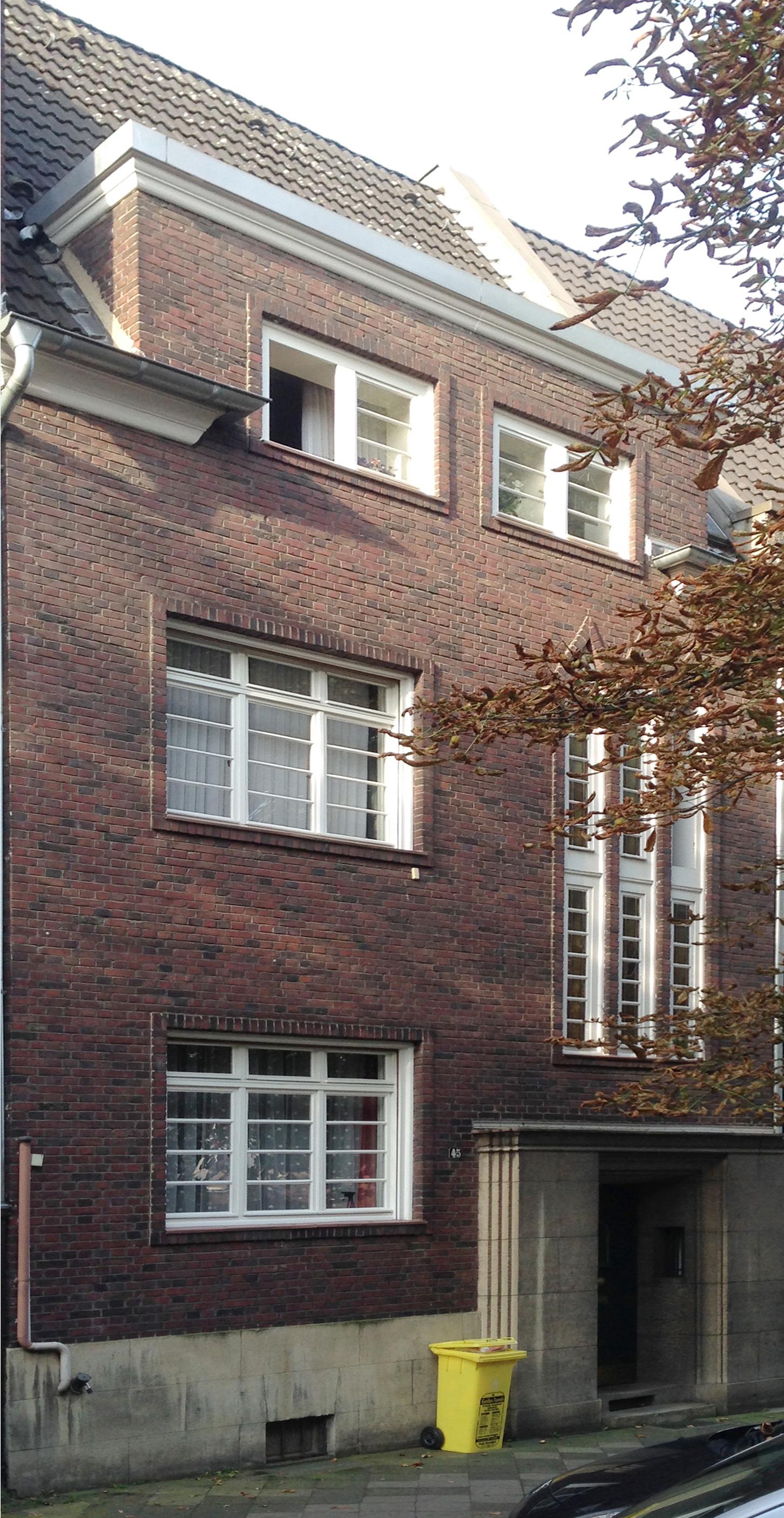 File Haus Steffenstraße 45 Düsseldorf Oberkassel
