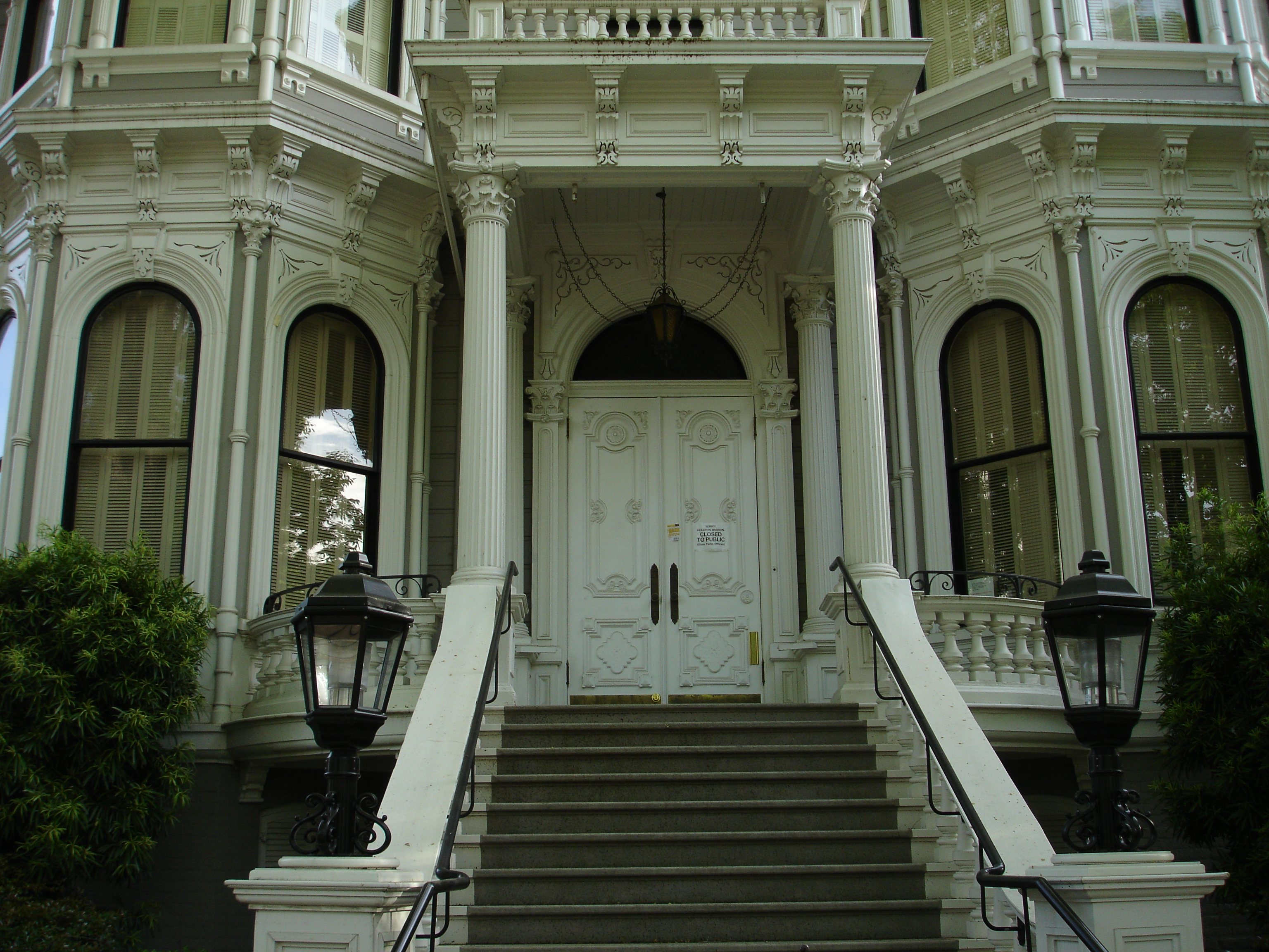 File Heilbron House Front Porch Sacramento Ca