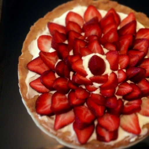 Homemade tart