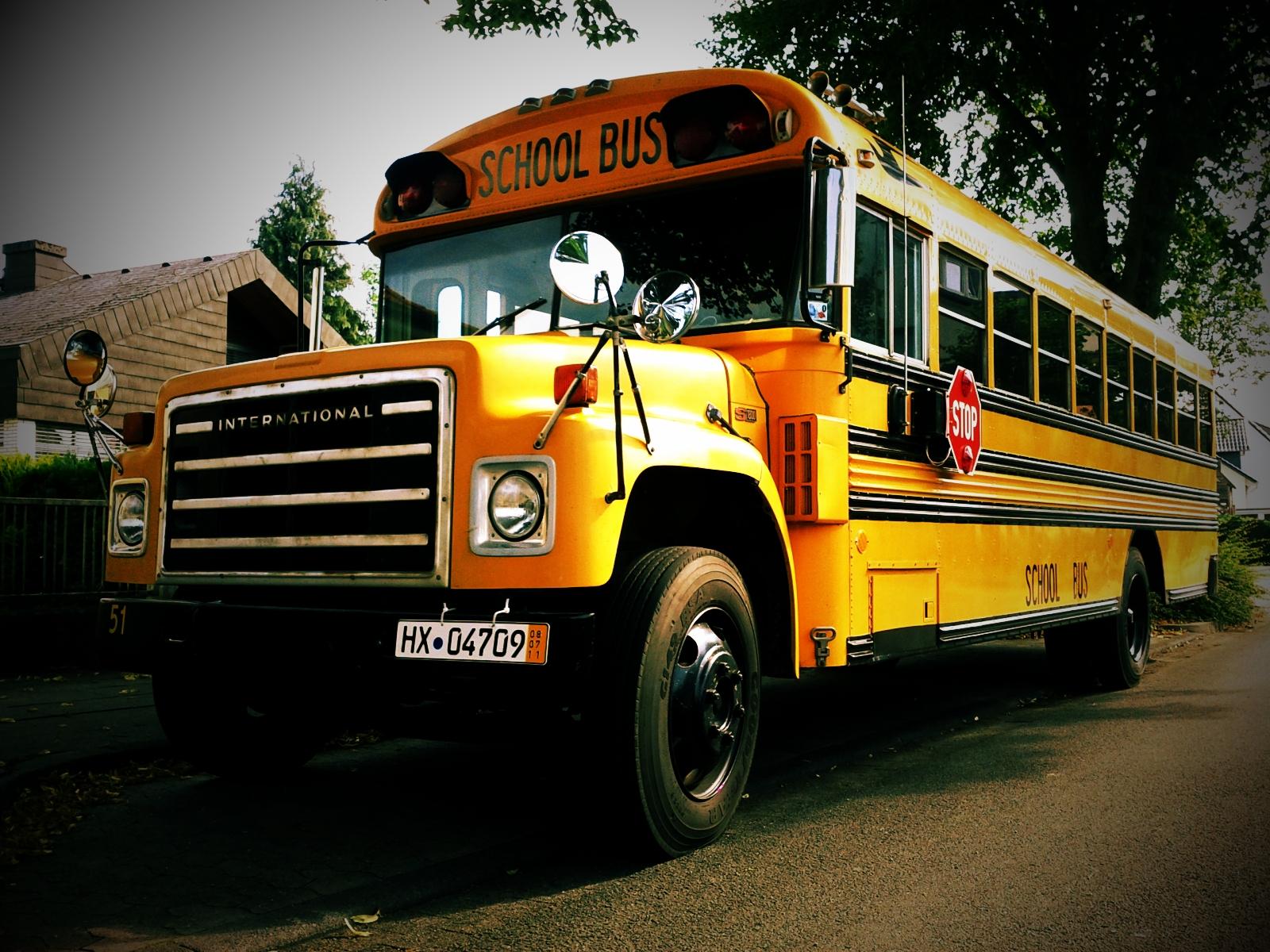 school bus wallpapers hd - photo #31