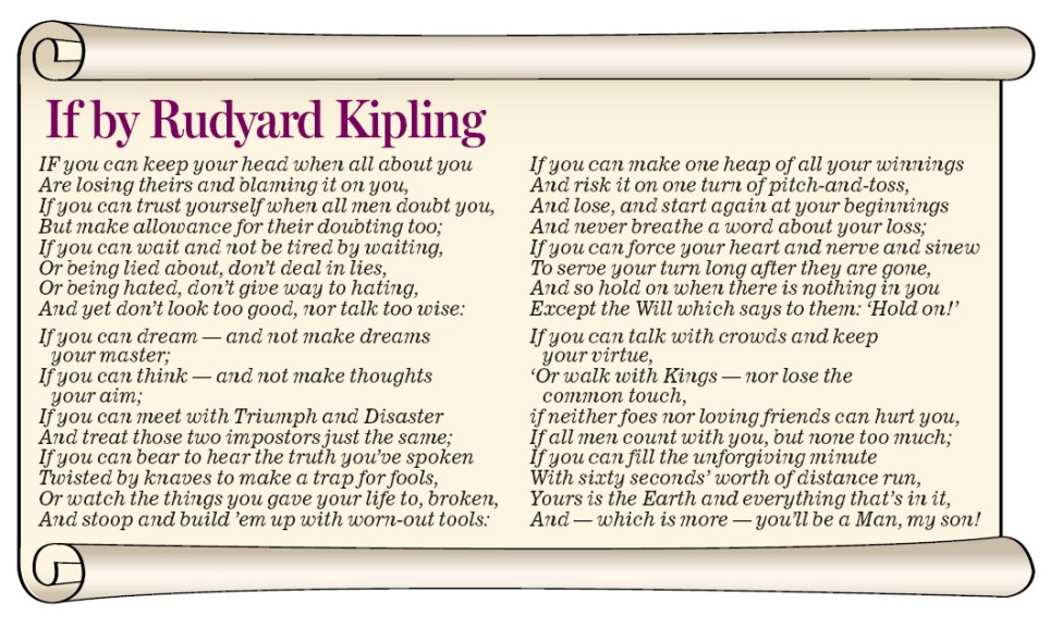 essay writing tips to if by rudyard kipling essay values in life by rudyard kipling thoughtco