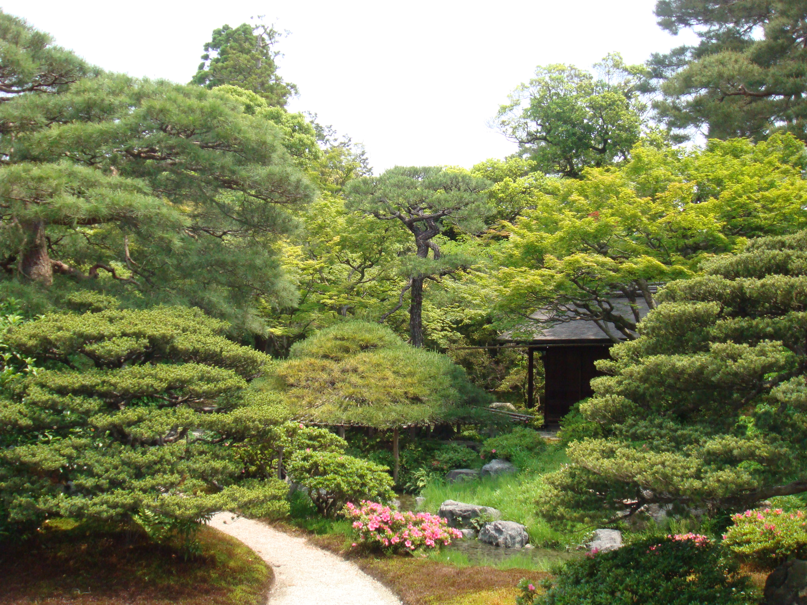 File Imperial Palace In Kyoto Garden Of Emperor Library A Path Jpg