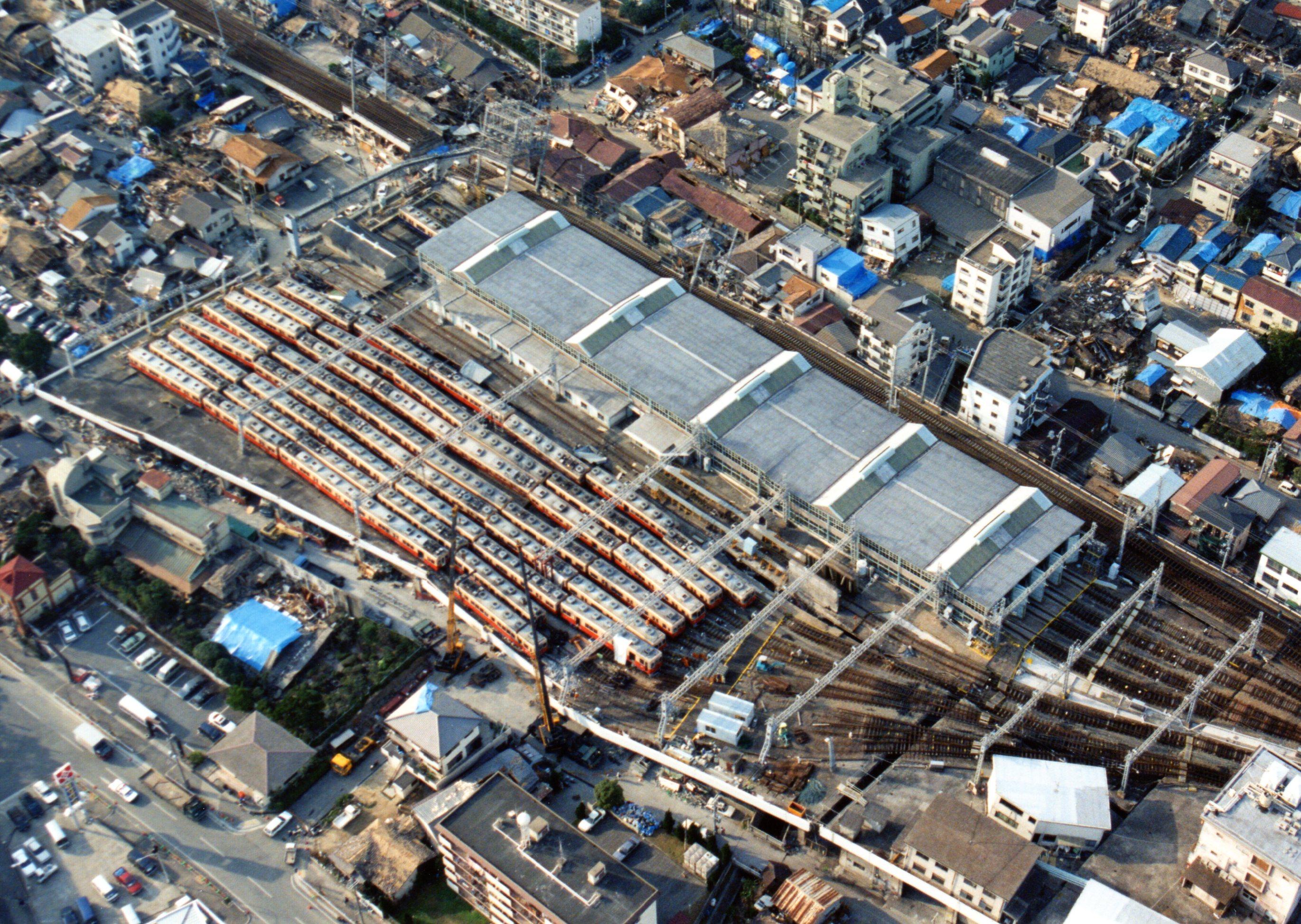 阪神電気鉄道石屋川車庫
