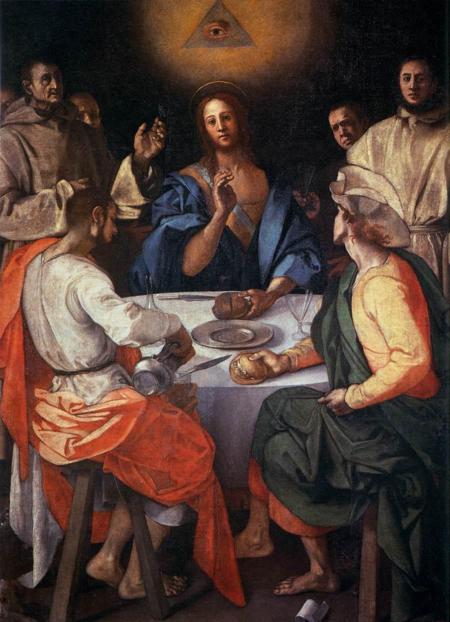 [Image: Jacopo_Pontormo_-_Supper_at_Emmaus_-_WGA18097.jpg]