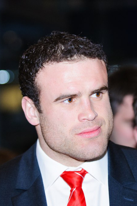 The 31-year old son of father (?) and mother(?) Jamie Roberts in 2018 photo. Jamie Roberts earned a  million dollar salary - leaving the net worth at 42 million in 2018