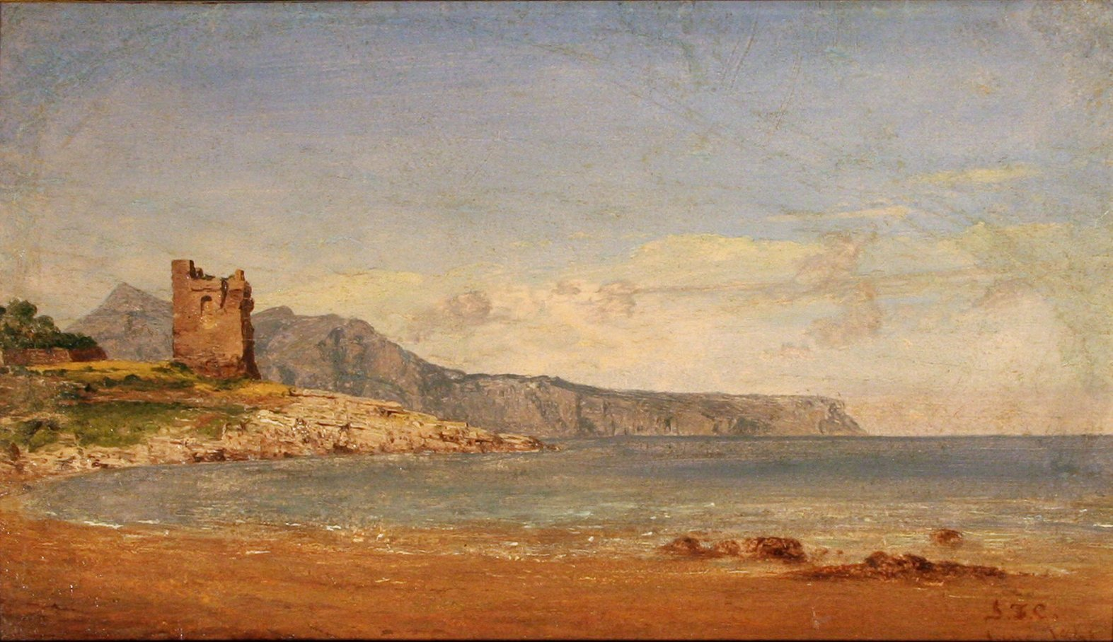 Chattanooga >> File:Jasper Cropsey View of Capri.jpg - Wikimedia Commons