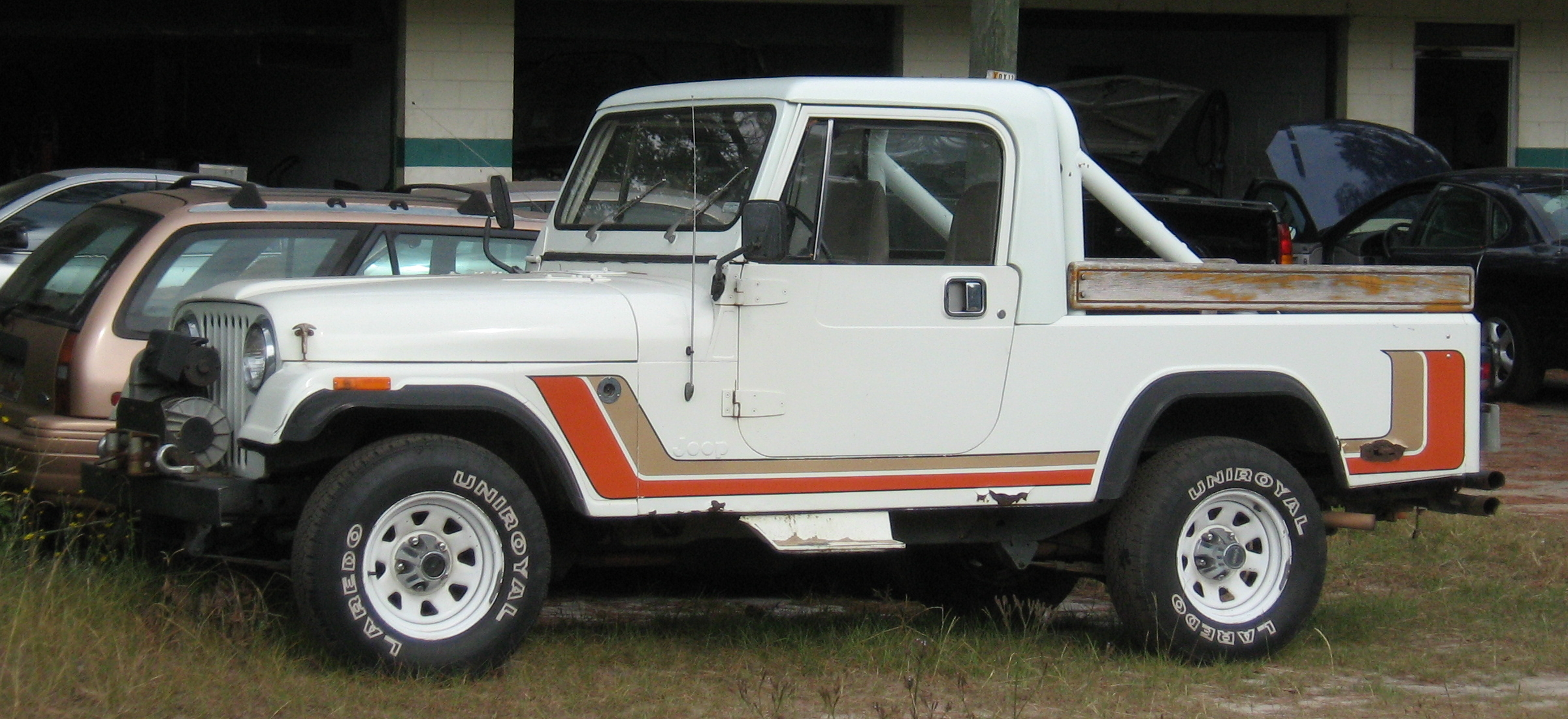 Stock Suzuki Samurai Off Road
