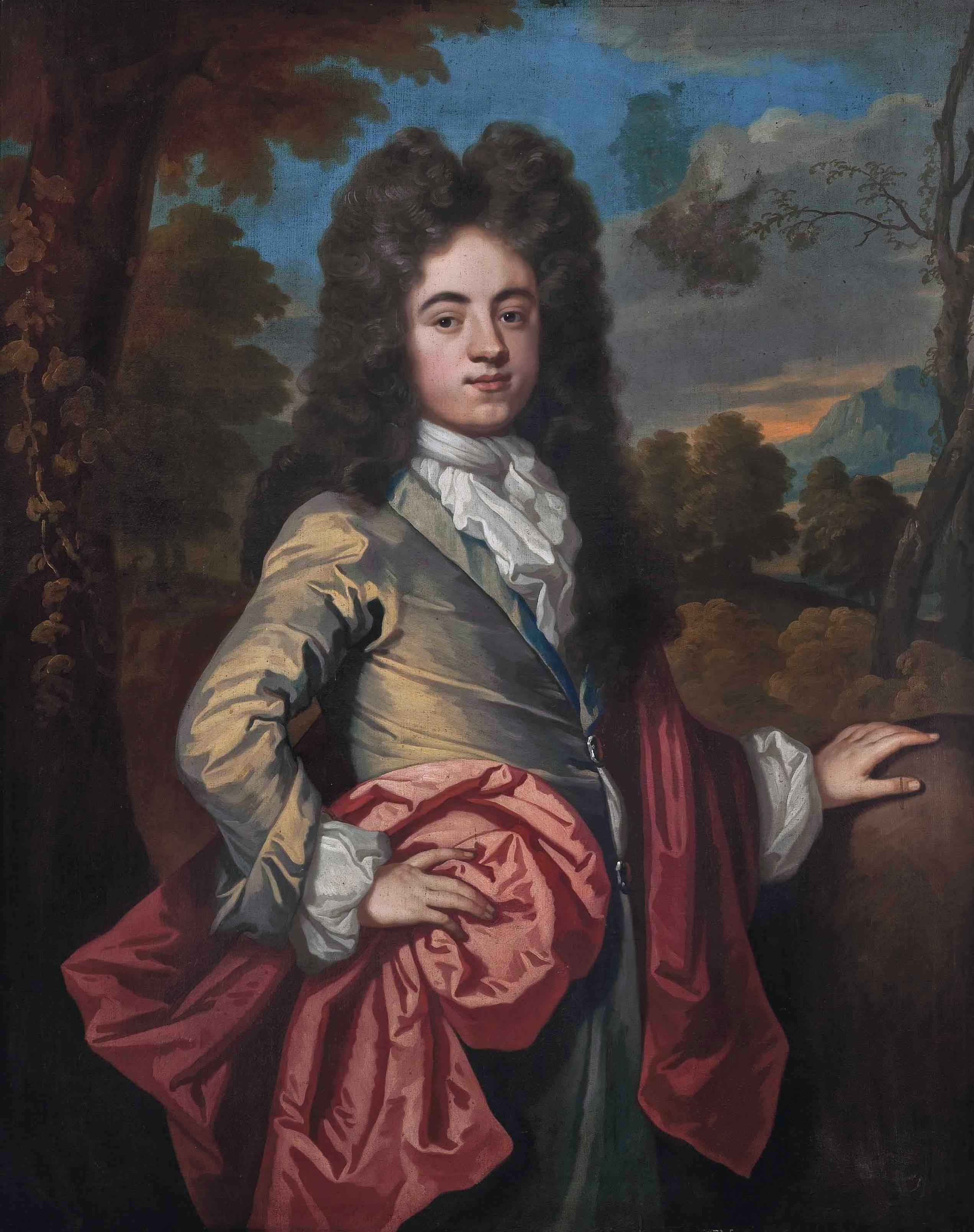 File:John Harpur, 4th Baronet (1679-1741), by John Kerseboom