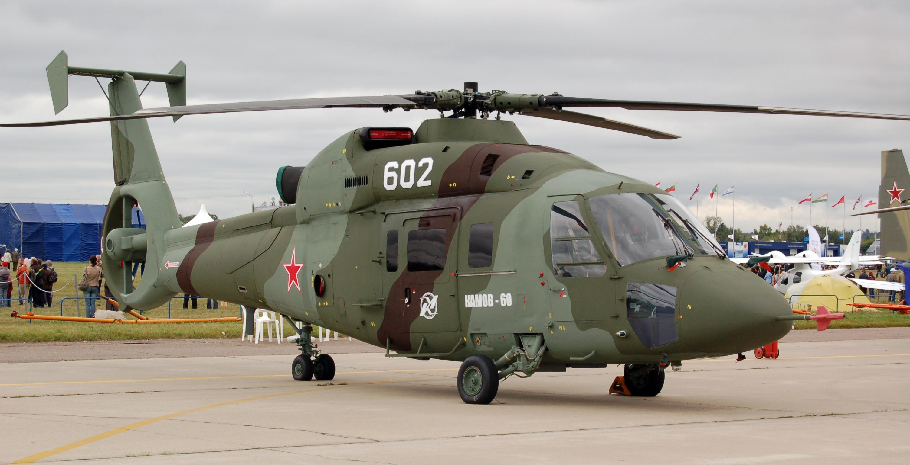 De Helicópteros Argentos Kamov_Ka_60_maks2009