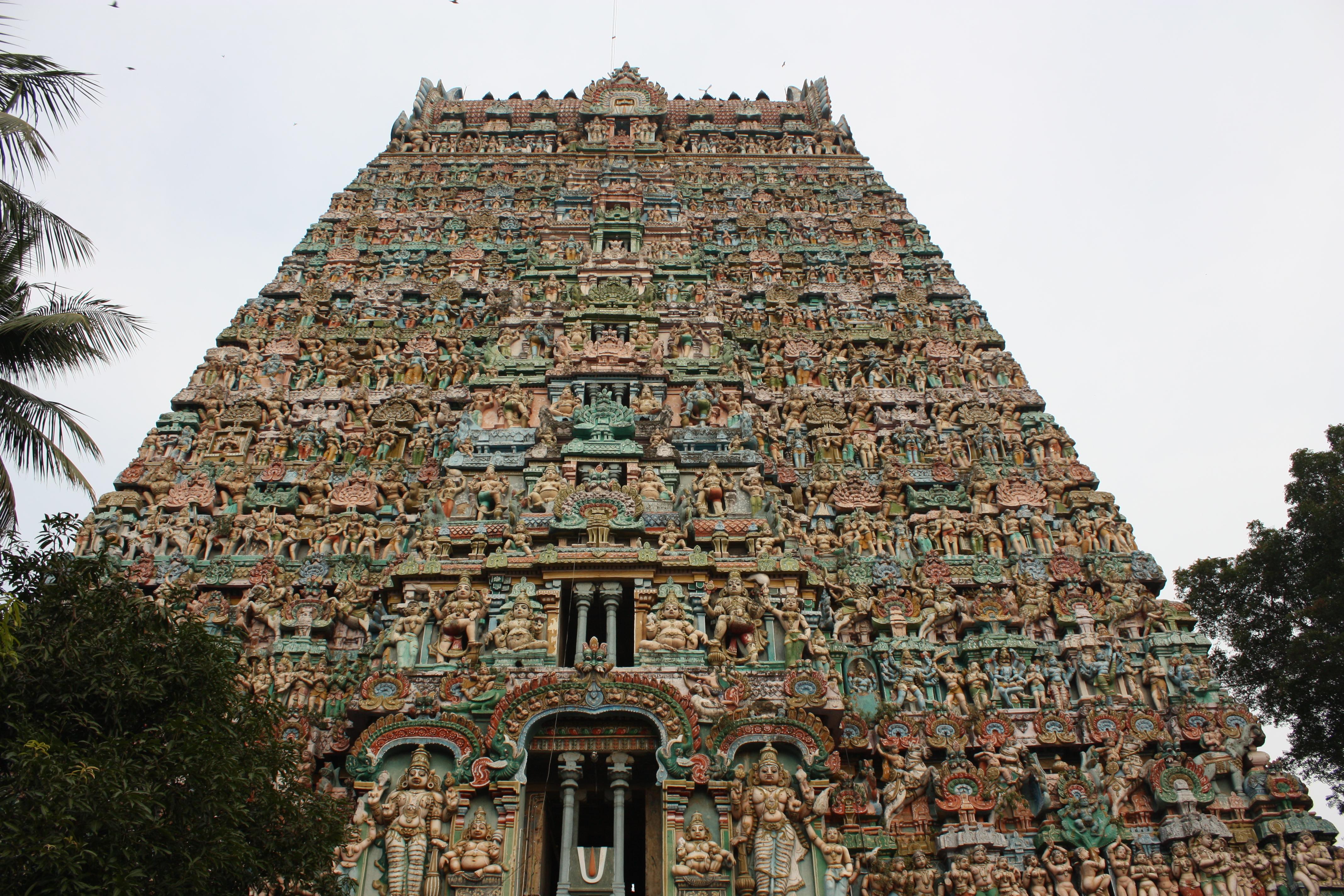 Où suis - je - ajonc 20 octobre trouvé par Martine Kumbakonam,_Sarangapani_Temple_(6867991848)