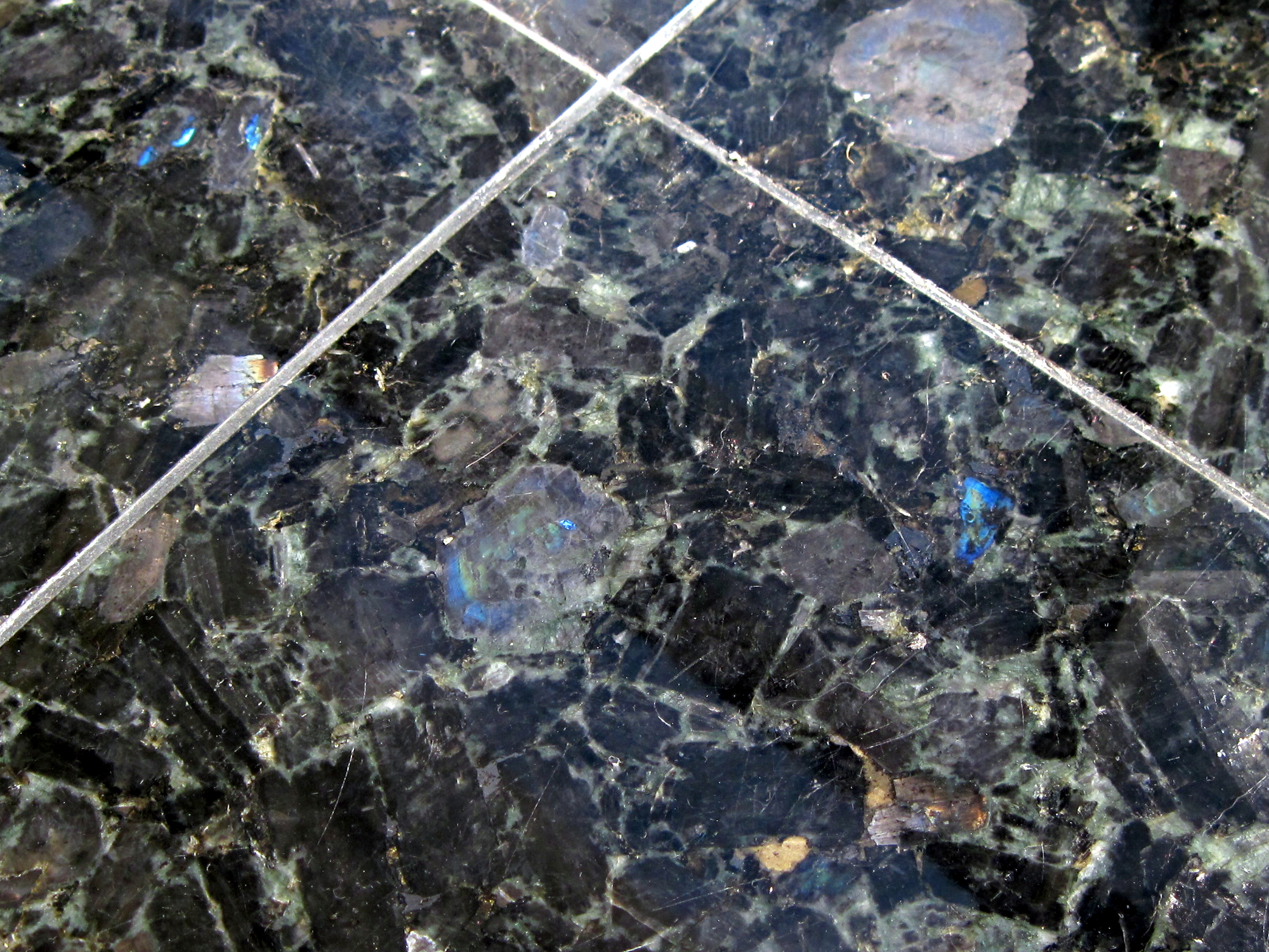 File Labradorite Slabs Used As Floor Tiles Jpg