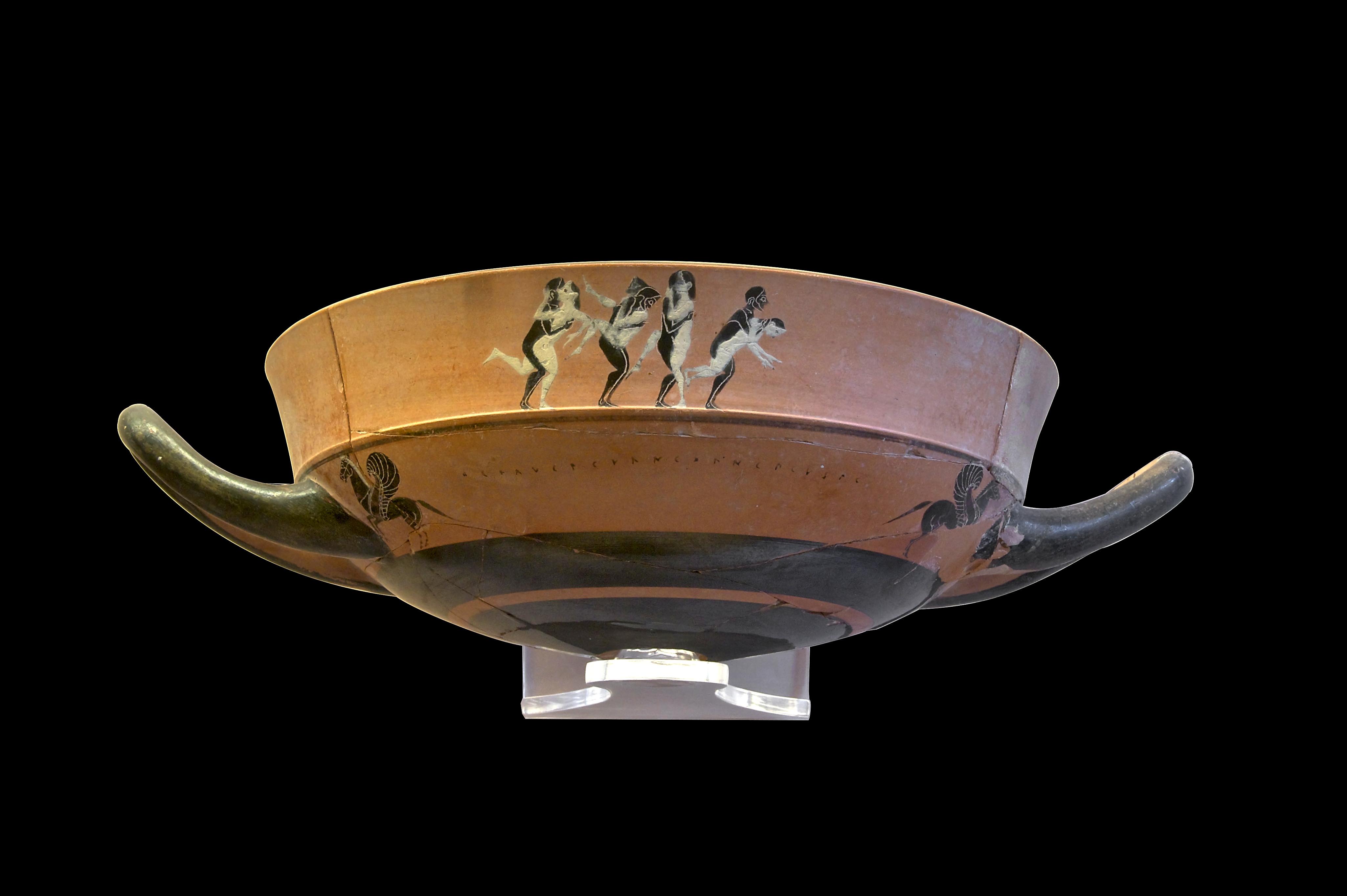 Filelip-Cup Sexual Intercourse Ialysos Black Background -4617