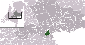 Location of Nijmegen