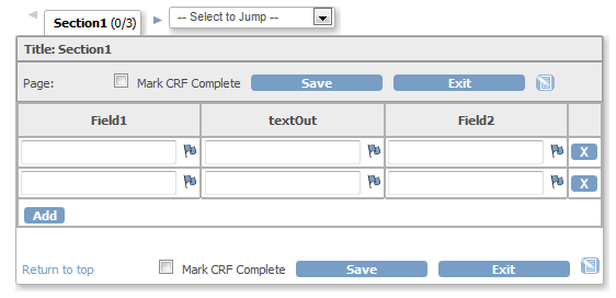 Method 3: CRF in OC before selecting option