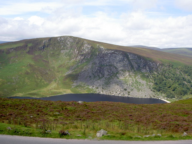 Luggala (Fancy Mountain) and Lough Tay. - geograph.org.uk - 523782